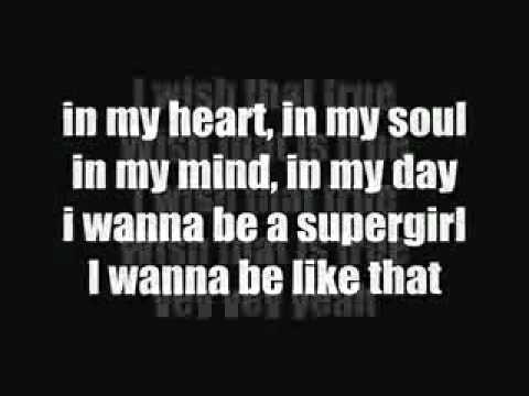 Rosemarry Feat Gania - Supergirl ( Lirik ).3gp