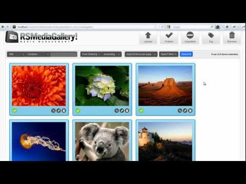 Joomla! Image Gallery - RS Media Gallery! - Introduction (HD)
