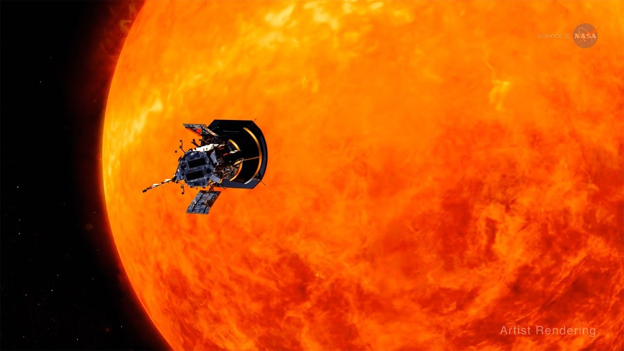 NASA ScienceCasts: The Parker Solar Probe - A Mission to Touch the Sun - YouTube
