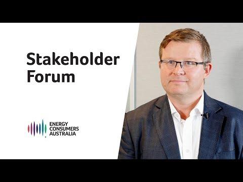 Stakeholder Forum: Melbourne
