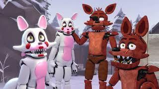 [SFM FNAF] Foxy's Family: X-Mas Edition