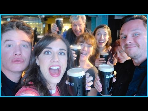 FAMILY DRINKING PARTY IN IRELAND!!!