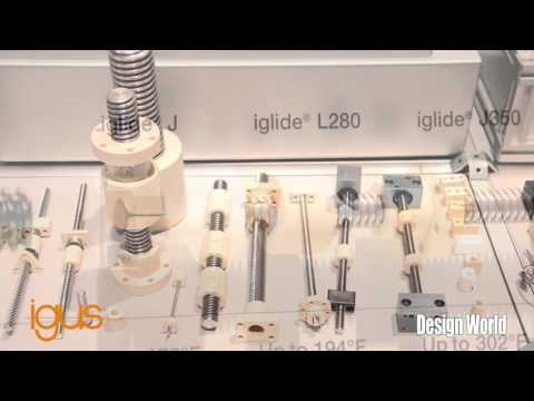 Introduction to igus DryLin lead screw technology MD&M West