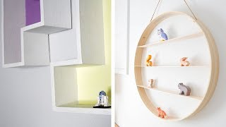 14 Savvy Shelves Ideas That Are Totally Easy To DIY