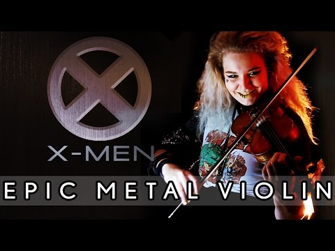 Sophie Marlon - X-MEN Theme Song - Epic Metal Violin Cover