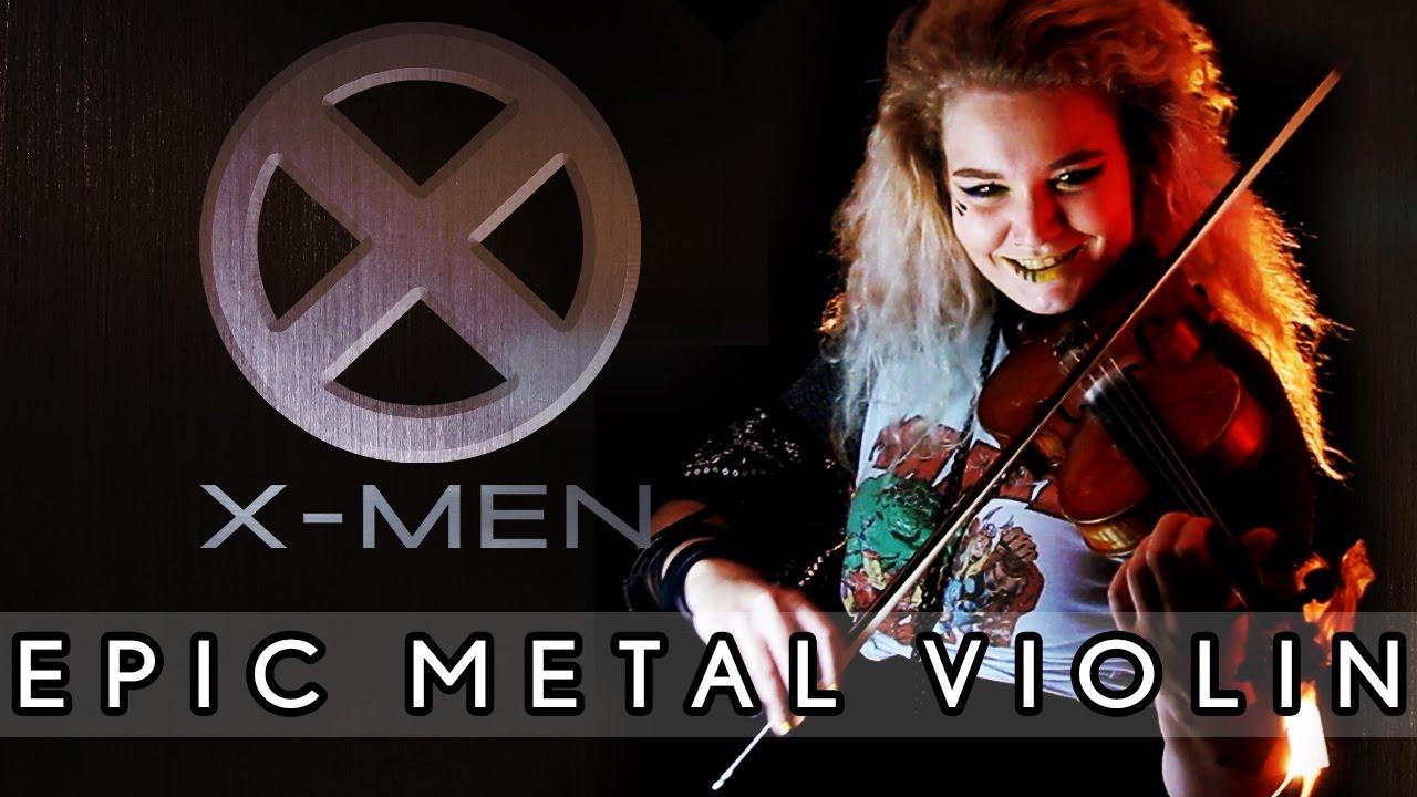 Sophie Marlon - X-MEN Theme Song - Epic Metal Violin Cover