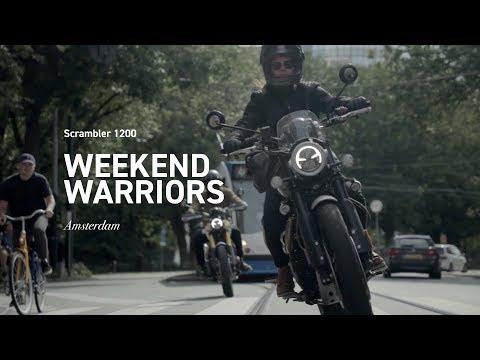 Discovering Amsterdam | Triumph Scrambler 1200
