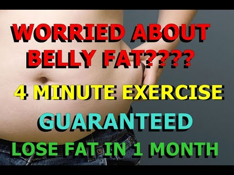4 MINUTES INTENSE BELLY FAT WORKOUT | GUARANTEED FLAT STOMACH