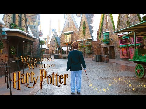 Harry Potter Things To Do In Real Life at Christmas in The Wizarding World ft. Brizzy Voices
