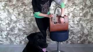 Рыжая каркасная комбинированная модельная сумка(Деловая и стильная сумка, выполнена из высокопрочного Турецкого кож-зама http://styleline-opt.com/sumki-zhenskie-optom-ves-assortiment..., 2015-10-30T09:00:01.000Z)
