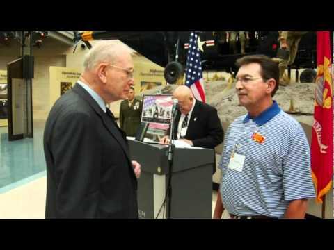 L/Cpl Steve Wilson recieves Bronze Star after 41 years since Vietnam.