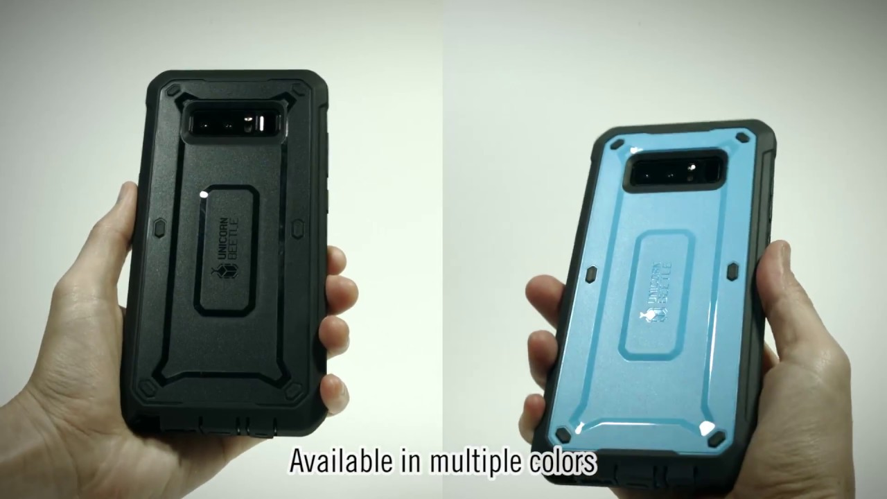 pretty nice 85d26 9d221 Galaxy Note 8 Unicorn Beetle Pro Case Installation Video | SUPCASE
