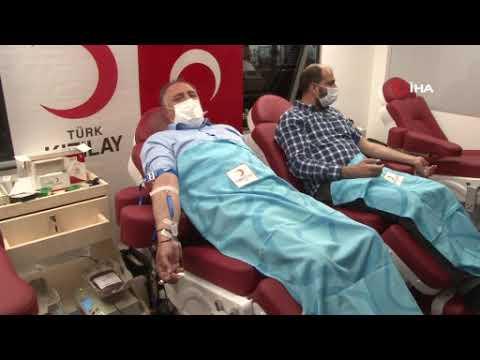Memur-Sen Diyarbakır İl Başkanlığından kan bağışı
