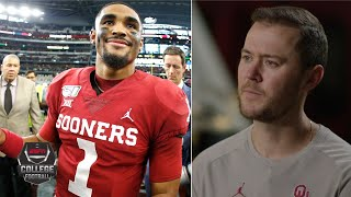 Jalen Hurts came to Oklahoma to win National Championship - Lincoln Riley | College Football Playoff