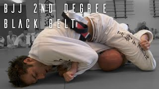 BJJ: 2nd Degree Black Belt