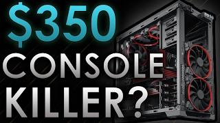 🔥 $350 Dollar GAMING PC Build 2017! - 60 FPS High Settings - Custom Gaming PC | Sami Loyal