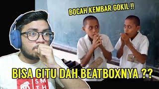 Download Video UNIK PARAH !! BOCAH KEMBAR GOKIL BEATBOXNYA BISA KAYA GINI !! - SansReaction MP3 3GP MP4
