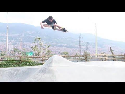 Arizona Iced Tea in Medellin Chimba De Parche Episode 2   TransWorld SKATEboarding