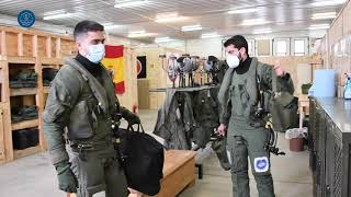 Detachment Paznic: Spanish 'Typhoon' fighter pilots get ready for flying