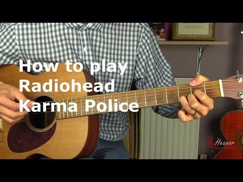 Radiohead - Karma Police guitar lesson - Action.News ABC Action News ...