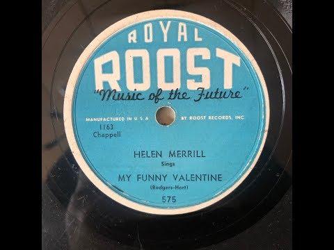 Helen Merrill  / My Funny Valentine Mp3