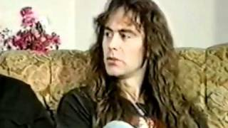 Iron Maiden - Dave Murray & Steve Harris Interview 1988. (Re-up)