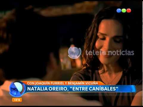 """Natalia Oreiro Adelanta  """"Entre Caníbales"""" - Telefe Noticias"""