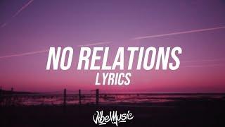 YBN Nahmir - No Relations (Lyrics / Lyric Video)