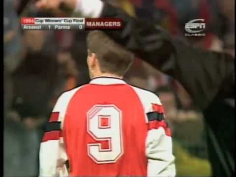 Arsenal v Parma  Cup Winners Cup 1994  Live Footage