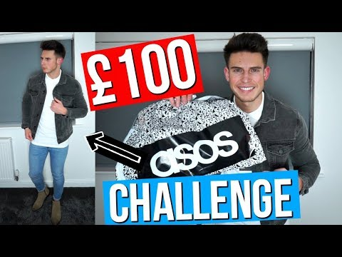 £100 ASOS MEN'S OUTFIT CHALLENGE