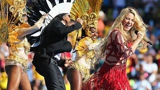 shakira s sexy dare la la la world cup closing ceremony performance