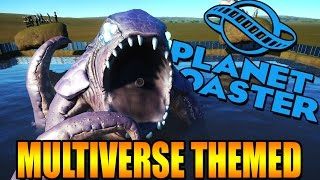 FUN MULTIVERSE THEMED PARK! | Planet Coaster Gameplay (Kid Friendly Themepark Game!)
