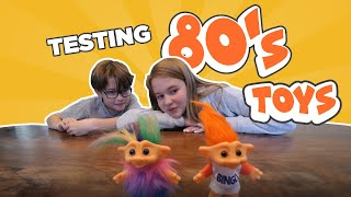 Download Testing Toys from the 80's Mp3 and Videos