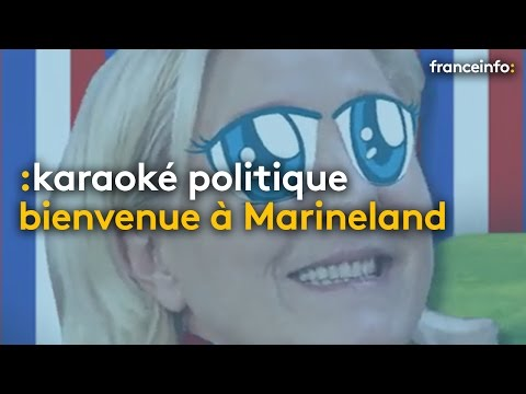 Le programme de Marine Le Pen (version karaoké)