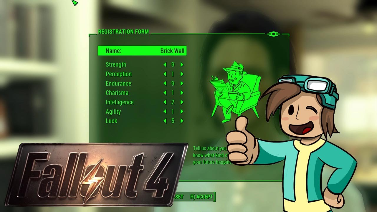 Fallout 4 \\ Character Build Tips \\ Stat's Tutorial & Overlook ...