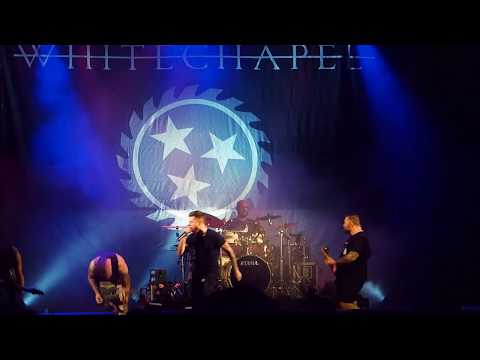 Whitechapel live @ Vagos Metal Fest 2017