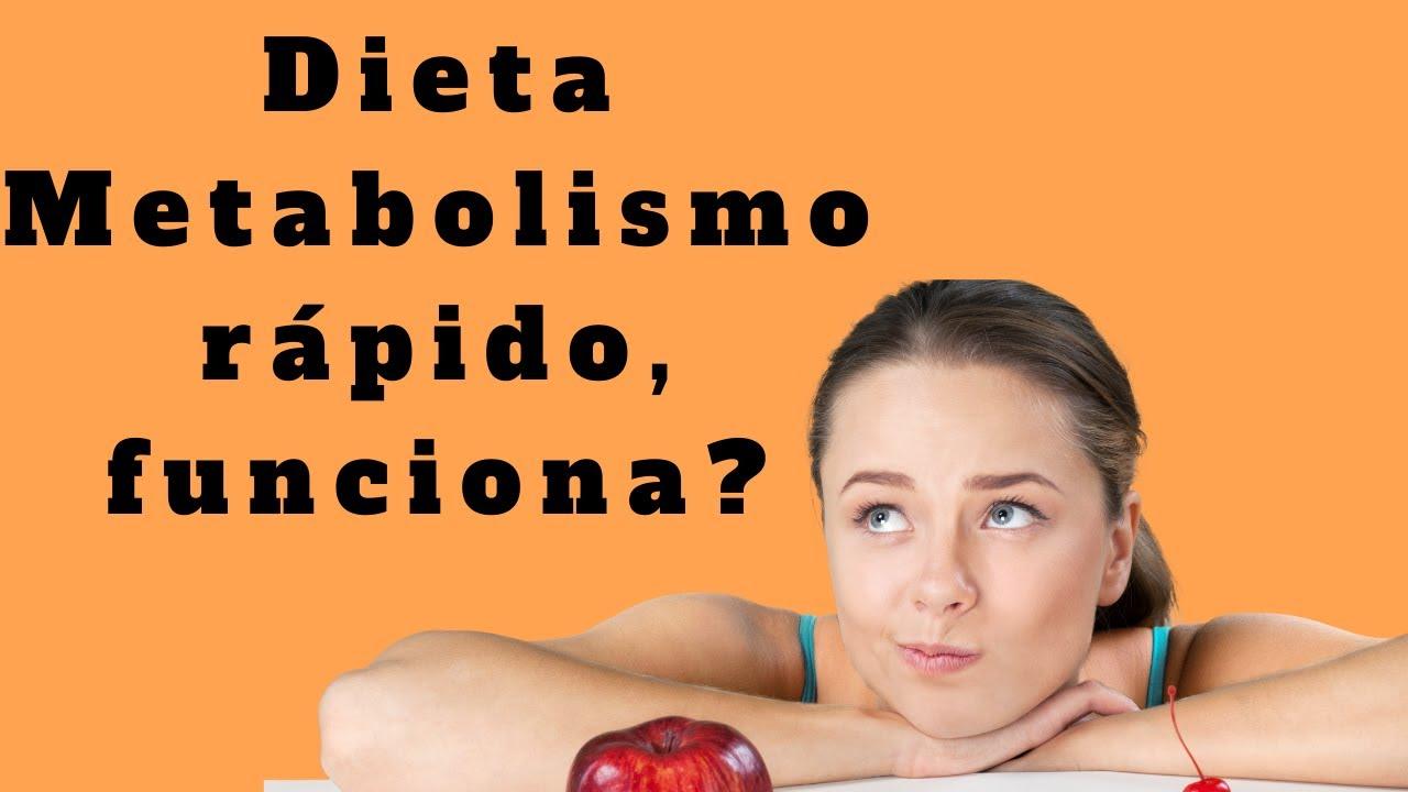 Dieta metabolismo rápido - Funciona? - YouTube