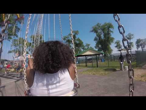 """HD GoPro Recording of """"Swings"""" Ride at Rye Playland"""