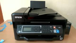 unbox Epson l565 full review in hindi