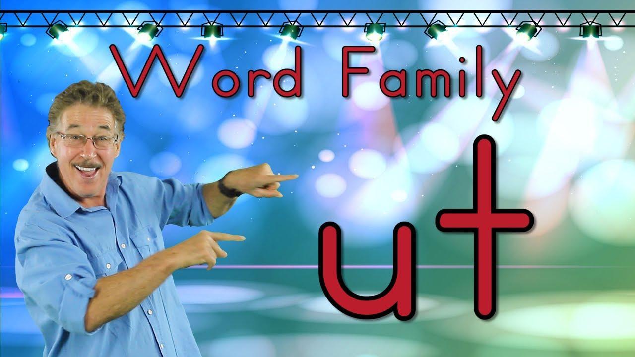 Download Word Family -ut | Phonics Song for Kids | Jack Hartmann