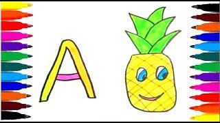 Как нарисовать букву А...