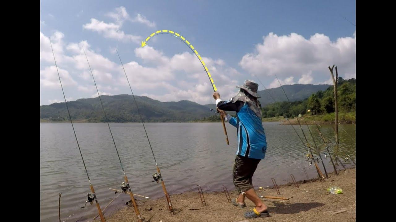 ตกปลา อ่างเก็บน้ำห้วยน้ำก้อ มันสุดๆ Fishing Lover EP.35