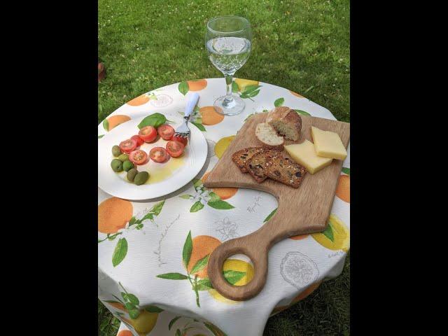 Nappe de table champêtre