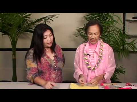 The Joy Of Crafting 1521 Bozu Ribbon Lei Youtube