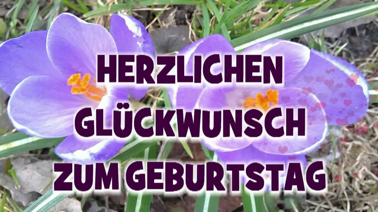 Herzlichen GlГјckwunsch Video