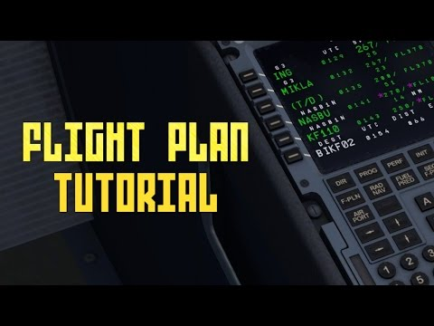 Aerosoft Airbus: Flight Planning (Tutorial)