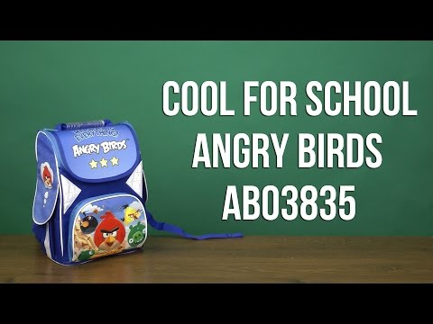 Распаковка Cool For School Angry Birds для мальчика