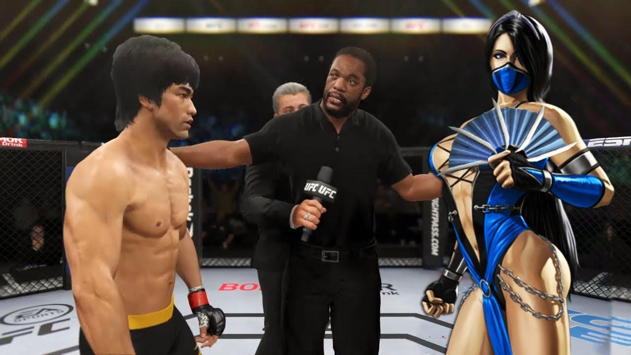 PS5 | Bruce Lee vs. Mk Kitana (EA Sports UFC 4)