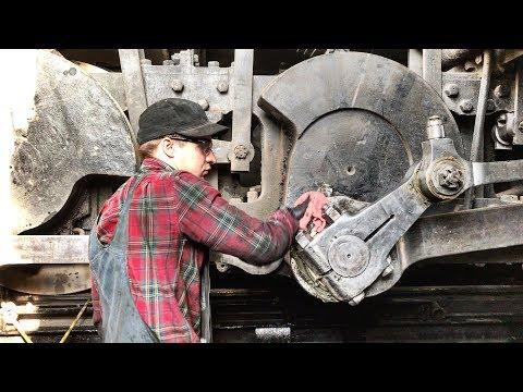 Working on a Steam Locomotive [4K]