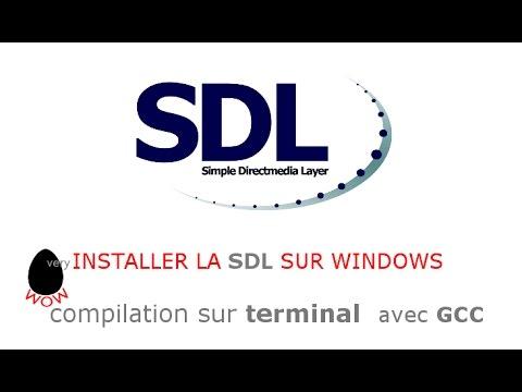 SDL TÉLÉCHARGER LA LIBRAIRIE
